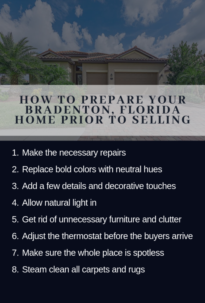 Infographic Showing the Things a Seller Can Do to Prepare Their Home Prior to Selling